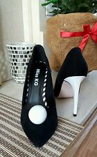 New kurt GEIGER unusual black and white shoes size 4 / 37