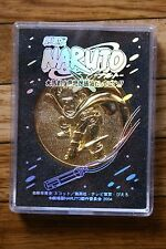Movic Naruto Movie Medal 2004 Coin Mini Toy NINJA CLASH IN THE LAND OF SNOW!