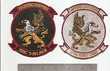 #321 HHC 7-101 AVN REGT PATCH FIGHTING GRIFFINS
