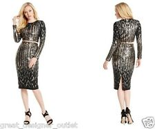 GUESS BY MARCIANO Tabitha Two Piece Sequin Dress Set Size S Small
