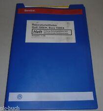 Werkstatthandbuch VW Golf IV, Bora 5-Gang Schaltgetriebe 02C Syncro Achsantriebe