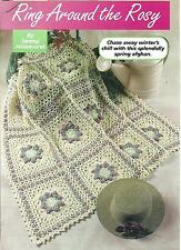 *Ring Around the Rosy Afghan crochet PATTERN INSTRUCTIONS