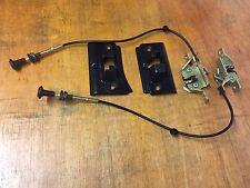 FORD Sierra Sapphire Sedile Posteriore Meccanismo Serratura Kit / Pull cavi e copre