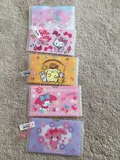 Sanrio Trinkets Variety Characters Money Wallet Plastic Trinkets Complete Set