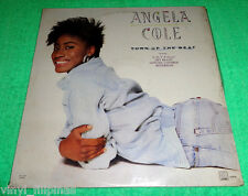 PHILIPPINES:ANGELA COLE - Turn Up The Beat LP RARE,