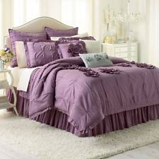 LC Lauren Conrad CHLOE Ruffle 2pc COMFORTER SET Twin/XL TWIN +bonus BAG *$179.99