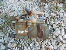 Allis Chalmers WD 45 WD45 tractor engine motor Zenith carburetor assembly