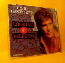 MAXI Single CD David Hasselhoff Looking For Freedom 3TR 1988 Synth-pop, Schlager
