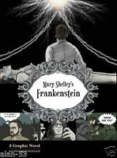 FRANKENSTEIN ~ MARY SHELLEY ~ NEW GRAPHIC NOVEL ~ ILLUSTRATED by PETE KATZ ~ SC