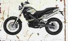 BMW G650Xcountry 2007 Aged Vintage SIGN A3 LARGE Retro