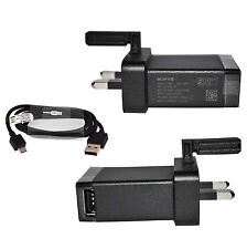 100% GENUINE SONY EP880 EP-880 MAINS CHARGER FOR XPERIA Z ,XPERIA Z1 XPERIA Z2 T