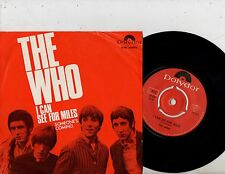 THE WHO 7'' PS I Can See For Miles Sweden NH 59124 RARE MOD COVER Swedish 45