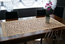 "Lace Table Runner Oblong High Quality 24"" x 47"" (60cm x 120cm)"