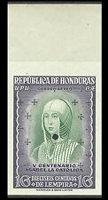 Honduras Isabelle la Catholique Essai Trial Color Proof Essay Ungezahnt ** 1952
