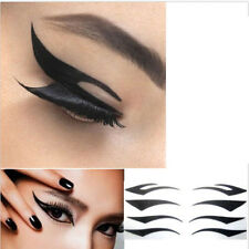 Temporary Rock Eye Tattoo Eyeshadow Stickers Eyeliner Makeup Cool BE