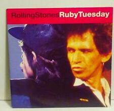 ROLLING STONES Ruby Tuesday 45 656892 UK 1991 NM- PICTURE SLEEVE IMPORT