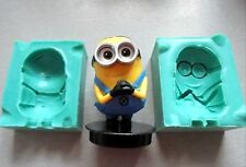 Silicone Mould 3D MINION Sugarcraft Cake Decorating Fondant / fimo mold