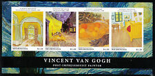 Micronesia 2013 MNH Vincent van Gogh 4v Sheetlet I Bedroom Arles Entrance Hall