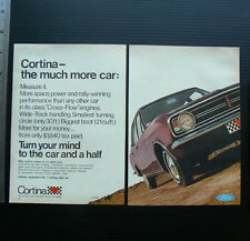 1968 vintage ad FORD CORTINA car advertisement sales advertising advert auto