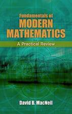 Fundamentals of Modern Mathematics (Dover Books on Mathematics),MacNeil, David,N