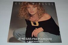 "Kylie Minogue~Je Ne Sais Pas Pourquoi & Made in Heaven~12"" Single~FAST SHIPPING"