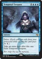 TEMPORAL TRESPASS Fate Reforged MTG Blue Sorcery Mythic Rare