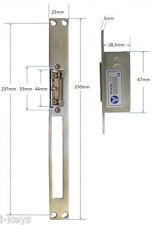 El. Türöffner mit Entriegelung + Speicher, 12V DC, 700mA bis 600kg, YS134ASL