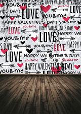 Vinyl Valentine's Day Photography Background Photo Studio Backdrop 5x7ft  K196