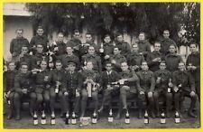cpa Carte Photo Militaire SOLDATS du 37e Régiment d'Infanterie Fête PÈRE 100