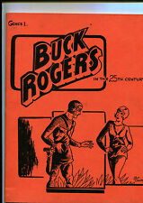 """1965 Great Classic Newspaper Comic Strips """"Buck Rogers"""" Book 1&2 Science Fiction"""