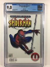 "Ultimate Spider-Man #1 - CGC 9.0 White Variant (1st use of ""Ultimate"")"
