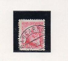 España Azcarate Matasellos Barcarrota año 1935 (CO-755)
