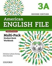 American English File 2E 3 Multipack A: With Online Practice and iChecker by La