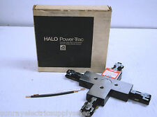 Halo - Cooper Lighting L906MB Black X Plug-in Connector for track lighting  NEW