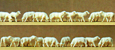 HO Preiser NATIVITY SCENE EIGHTEEN (18) SHEEP FIGURES  * CHRISTMAS Diorama *