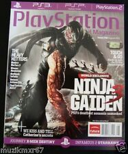 Playstation The Official Magazine Issue 048 August 2011 Ninja Gaiden 3, Hitman,