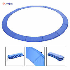 15FT Trampoline Safety Pad Spring Round Frame Pad Cover Replacement Blue