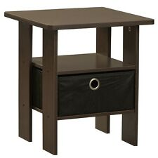 Small End Table Home Office Living Room Accent Side Sofa Stand w Shelf Furniture