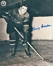 Autographed Kenny Reardon 8x10 Montreal Canadiens Photo with COA