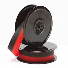 Metal Spools With Fresh Black & Red Ribbon For Smith Corona Manual Typewriter