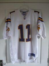 Reebok NFL Minnesota Vikings Dante Culpepper American Football Jersey Mens L
