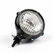 High Low Beam LED Phare Headlight Lamp Pour Harley Cafe Racer Bobber Custom Moto