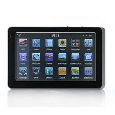5 Inch HD Screen 128MB RAM GPS Car Navigation Sat Nav FM MP3 MP4 POI WinCE 6 4GB