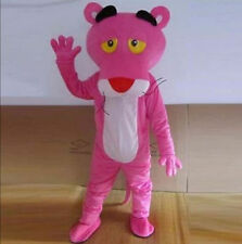 2015 Professional Pink Panther Mascot Cartoon Costume Adult Size