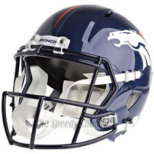 DENVER BRONCOS RIDDELL SPEED  NFL FULL SIZE REPLICA FOOTBALL HELMET