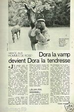 Coupure de Presse Clipping 1978 (1 page) Dora Doll