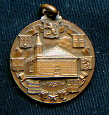 Italy 1957 Military Bronze Medal POLICE Piedmont PUBLIC SECURITY GUARDS / N 119