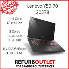 "GAMING LAPTOP - Lenovo IdeaPad Y50-70 15.6"" (1TB, Intel Core i7 4th Gen, 16GB)"