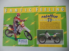 advertising Pubblicità 1990 MOTO FANTIC CABALLERO 50 RS
