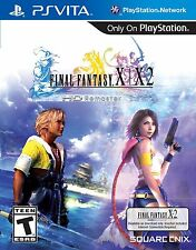 Final Fantasy X|X-2 HD Remaster (Sony PlayStation Vita, NTSC, Video Game) NEW